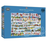 Gibsons Gibsons Cream Teas & Queuing Puzzle 2000pcs