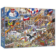 Gibsons Gibsons I Love the Weekend Puzzle 1000pcs