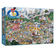 Gibsons Gibsons I Love Car Boot Sales Puzzle 1000pcs
