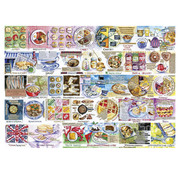 Gibsons Gibsons Pork Pies & Puddings Puzzle 1000pcs