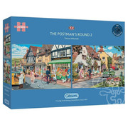 Gibsons Gibsons The Postman's Round Puzzle 2 x 500pcs