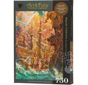 Art & Fable Puzzle Company Art & Fable Shipside Celebration Puzzle 750pcs