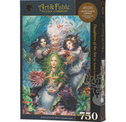 Art & Fable Puzzle Company Art & Fable Daughters of the Sea Puzzle 750pcs