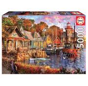 Educa Borras Educa The Harbour Evening Puzzle 5000pcs