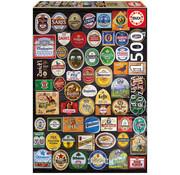 Educa Borras Educa Beer Labels Collage Puzzle 1500pcs