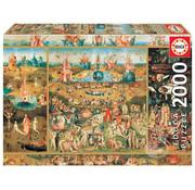 Educa Borras Educa The Garden of Earthly Delights Puzzle 2000pcs