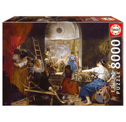 Educa Borras Educa The Spinners or Fable of Arachne, Diego Velázquez Puzzle 8000pcs
