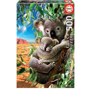 Educa Borras Educa Koala and Cub Puzzle 500pcs