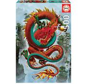 Educa Borras Educa Good Fortune Dragon Puzzle 500pcs