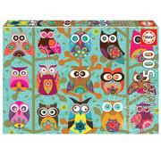 Educa Borras Educa Owls Puzzle 500pcs