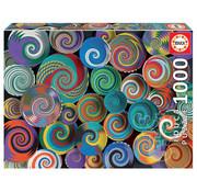 Educa Borras Educa African Baskets Puzzle 1000pcs