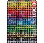 Educa Borras Educa Collage Bottle Caps Puzzle 1000pcs