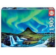 Educa Borras Educa Aurora Borealis, Iceland Puzzle 1500pcs