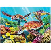 Cobble Hill Puzzles Cobble Hill Molokini Sea Tray Puzzle 35pcs