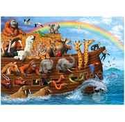 Cobble Hill Puzzles Cobble Hill Voyage of the Ark Tray Puzzle 35pcs
