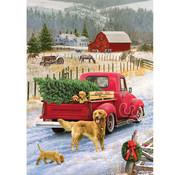 Cobble Hill Puzzles Cobble Hill Red Truck Farm Tray Puzzle 35pcs