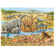 Cobble Hill Puzzles Cobble Hill Out of Africa Tray Puzzle 35pcs