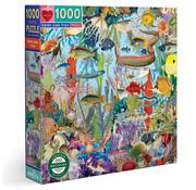 eeBoo eeBoo Gems and Fish Puzzle 1000pcs