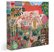 eeBoo eeBoo English Cottage Puzzle 1000pcs