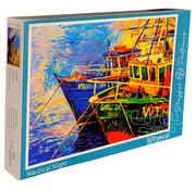 Playful Pastimes Playful Pastimes Nautical Nights Puzzle 1000pcs