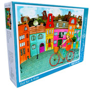 Playful Pastimes Playful Pastimes Out for a Ride Puzzle 1000pcs