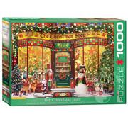 Eurographics Eurographics The Christmas Shop Puzzle 1000pcs