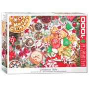 Eurographics Eurographics Christmas Table Puzzle 1000pcs