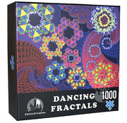 Enwood Games Enwood Games Dancing Fractals Puzzle 1000pcs