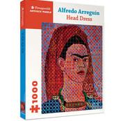 Pomegranate Pomegranate Alfredo Arreguin: Head Dress Puzzle 1000pcs