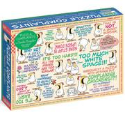 Workman Publishing Workman Sandra Boynton: Puzzle Complaints Puzzle 500pcs