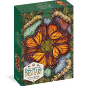 Storey Puzzle Storey The Illustrated Bestiary: Monarch Butterfly Puzzle 750pcs