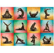 Willow Creek Willow Creek Sloth Yoga Puzzle 1000pcs