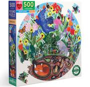 eeBoo eeBoo Rewilding Round Puzzle 500pcs