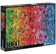 Clementoni Clementoni Colorboom - Collage Puzzle 1000pcs