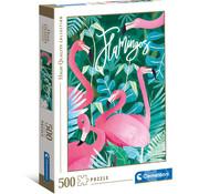 Clementoni Clementoni Flamingos Puzzle 500pcs
