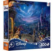 Ceaco Ceaco Thomas Kinkade Disney Beauty and the Beast Moonlight 300pcs Oversized