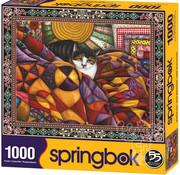 Springbok Springbok Quilted Cats Puzzle 1000pcs