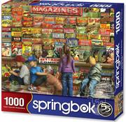 Springbok Springbok Comic Book Heaven Puzzle 1000pcs