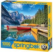 Springbok Springbok Calm Canoes Puzzle 1000pcs
