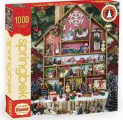 Springbok Springbok Christmas Country Home Puzzle 1000pcs