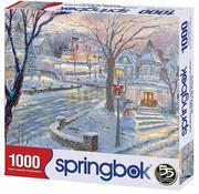 Springbok Springbok Cold Winter's Night Puzzle 1000pcs