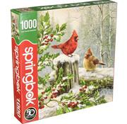 Springbok Springbok Winter Visitors Puzzle 1000pcs
