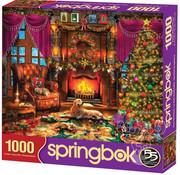 Springbok Springbok Cozy Christmas Puzzle 1000pcs
