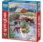 Springbok Springbok Christmas Tree Farm Puzzle 1000pcs