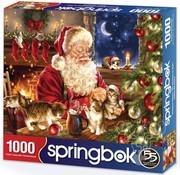 Springbok Springbok Christmas Kittens Puzzle 1000pcs