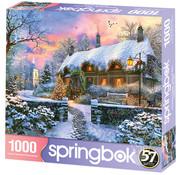 Springbok Springbok Christmas Cottage Puzzle 1000pcs