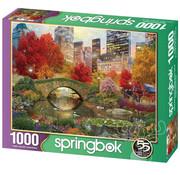 Springbok Springbok Central Park Paradise Puzzle 1000pcs