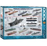 Eurographics Eurographics Aircraft Carrier Evolution Puzzle 1000pcs