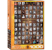 Eurographics Eurographics Famous Writers Puzzle 1000pcs