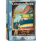 Eurographics Eurographics Banff in the Canadian Rockies Puzzle 1000pcs
